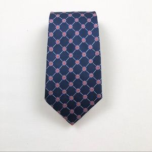 Eagles Wings MLB Chicago Cubs Silk Woven Tie